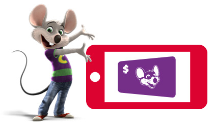 Chuck E. Cheese's Gift Cards from CashStar